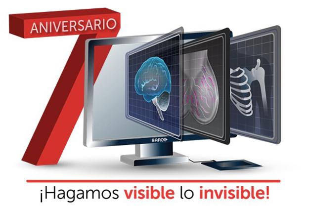 Coronis Uniti: La solución de visualización de grado médico de Barco, cumple 7 años de ayudar a los radiólogos a realizar diagnósticos más precisos