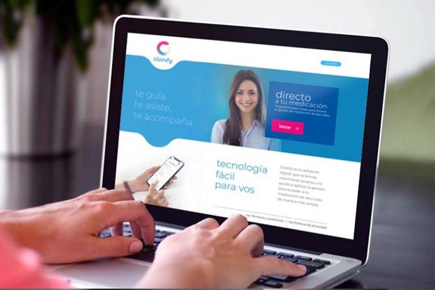Clonify: Una plataforma que permite acceder a medicación de alto costo minimizando el acceso al sistema de salud
